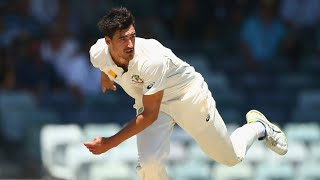 Starc bowls 160kph delivery at the WACA | Australia v New Zealand | 2015-16 Test Series