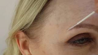 Healed 1st Microblading session by El Truchan