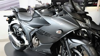 Suzuki Gixxer SF 250 - Metallic Matte Black || Engine & Specification ||
