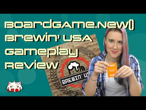 Brewin' USA Gameplay Review - BoardGame.new()