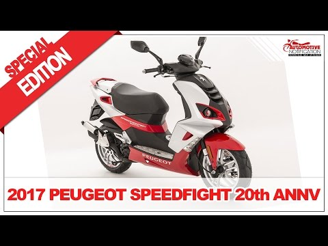 2017 Peugeot Speedfight 20th Anniversary Edition Price Specs Review