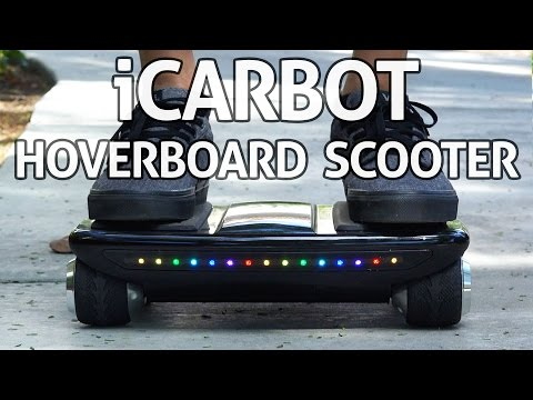 F-wheel iCarbot Hoverboard Scooter – REVIEW