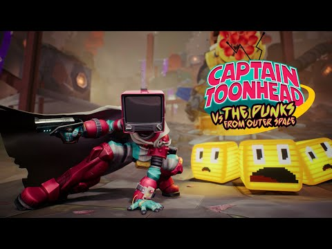 Announcement trailer de Captain Toonhead vs. the Punks from Outer Space