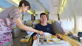 My PRIVATE B747 JET on Asiana Airlines + Christmas Giveaway!
