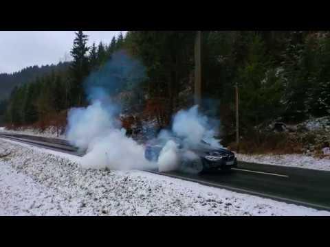 BMW 540i G30 - Wheels warm up/Burnouts