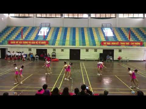 Thi Aerobic cấp Huyện nội dung tự trọn tại HKPĐ huyện Phù Ninh năm học: 2017-2018