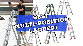 Is Little Giant The Best Multi-Position Ladder? (Harbor Freight Franklin, Cosco, Gorilla, And More!)