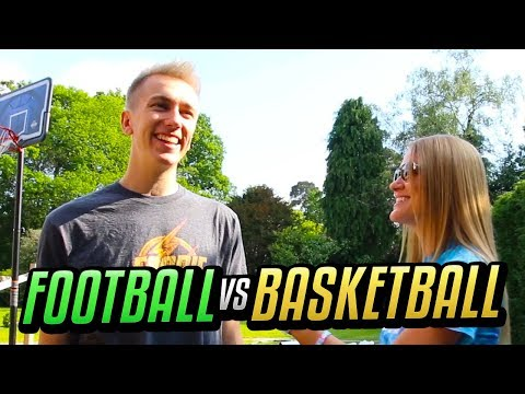FOOTBALL vs BASKETBALL w/ Miniminter !!