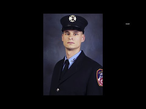 A U.S. Marine killed in Afghanistan was a decorated member of the Fire Department of New York. Christopher Slutman, a 15-year FDNY member, was among three American service members killed by a roadside bomb on Monday. (April 9)