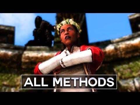 Skyrim - All Ways to Kill Vittoria