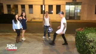 Justin Bieber Parking Lot Soccer