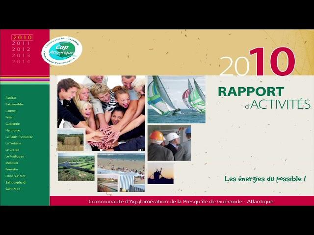 Rapport annuel sur le prix et la qualité du service public d'élimination des déchets 2010