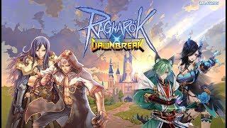 Ragnarok DawnBreak Gameplay Обзор Первый взгляд Летсплей (Android,APK)