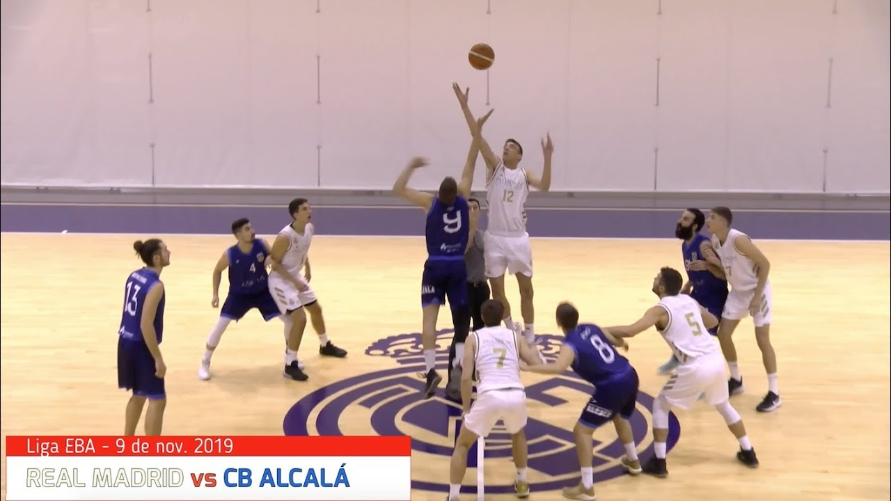 EBA -  REAL MADRID vs CB ALCALÁ.- Liga EBA (BasketCantera.TV)
