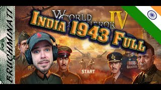 Livestream Replay India 1943 FULL - World Conqueror 4