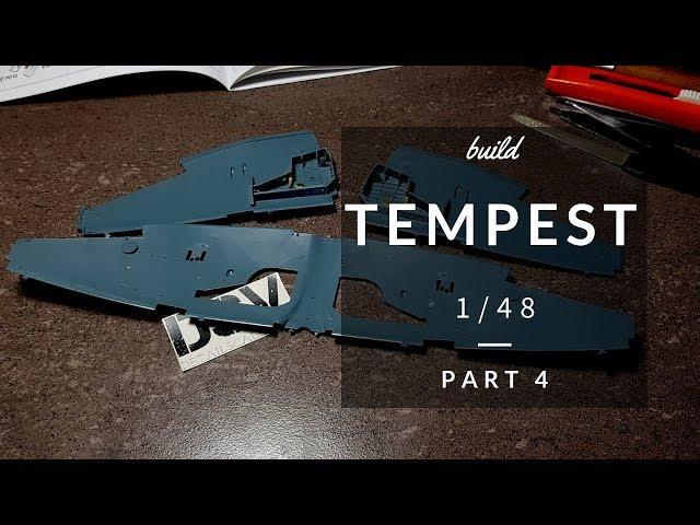 Tempest Mk.V Series 1 1//48 Eduard Modellbausatz 82121 Profi Pack