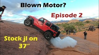 JL Jeep Rubicon stock on 37s vs JL lifted on 40s