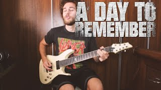 A Day To Remember   Degenerates GUITAR COVER NEW SONG 2019