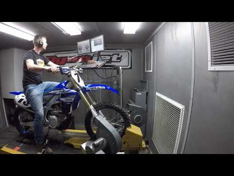 How Much Power Does The 2019 Yamaha YZ450FX Make?