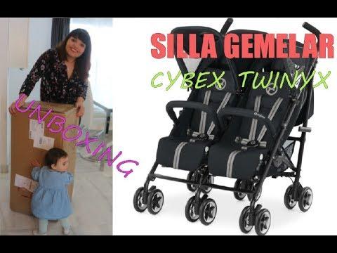 Silla de paseo ligera 2018 | Cybex Twinyx | Unboxing | Carrito de nuestras Bebés | Review