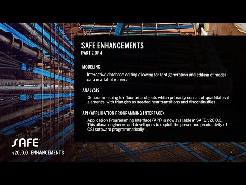 SAFE v20.0.0 Enhancements - Part II