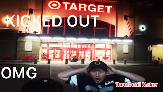 GETTING KICKED OUT OF TARGET!!!! (NOT CLICKBAIT)