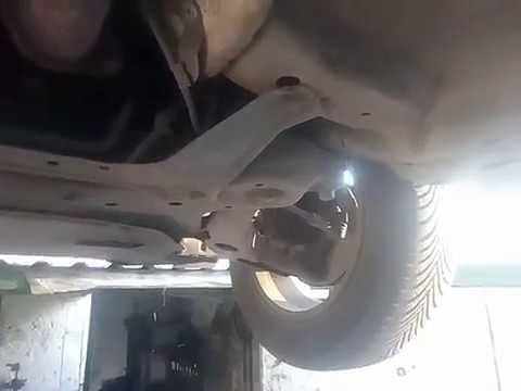 Ремонт подвески Mitsubishi Lancer X
