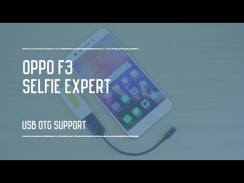 Oppo F3 USB OTG Support Mp3