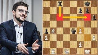 Forced, yet Brilliant || MVL vs Svidler || FIDE World Cup (2019)