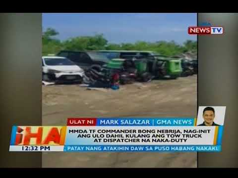[GMA]  Bong Nebrija, nag-init ang ulo dahil kulang ang tow truck at dispatcher na naka-duty