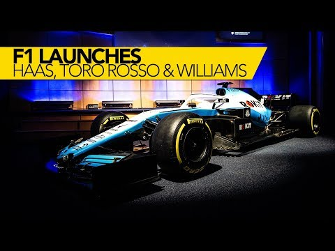 Williams & Haas presenteren nieuwe look!| F1 2019