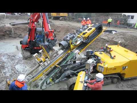 Klemm KR 806-3F & HBR 122 on jobsite