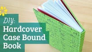 DIY Hardcover Book | Case Bookbinding Tutorial | Sea Lemon