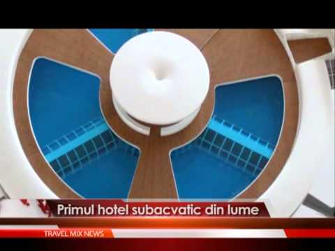 Primul hotel subacvatic din lume.