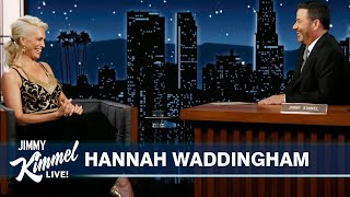 Hannah Waddingham on Ted Lasso Emmy Nomination, Eating Terrible Biscuits & Playing Shame Nun on GOT