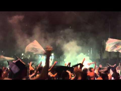 """Barra da Chape X River Plate recepção"" Barra: Barra da Chape • Club: Chapecoense"