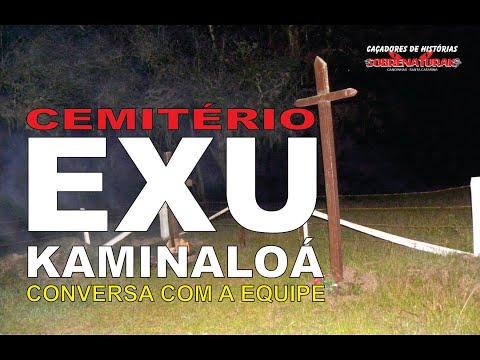 EXU KAMINALOÁ - CONVERSAMOS COM ELE NO CEMITÉRIO