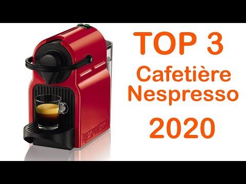TOP 3 : Meilleur Cafetière Nespresso à Capsules 2020
