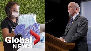 Epidemia koronawirusa: B.C. premier, urzędnicy zdrowia ogłaszają prowincjonalny plan reagowania   RELACJA NA ŻYWO – nagranie w j.angielskim