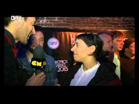 Miranda! video Entrevista Entrega de nominaciones - Carlos Gardel 2015
