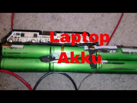 Laptop Akku Zellen tauschen klappt nicht - eflose #790