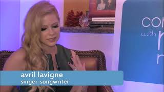 Avril Lavigne | Conversations with Maria Menounos | September 24, 2013