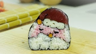 Sushi Santa - Food Art Recipe