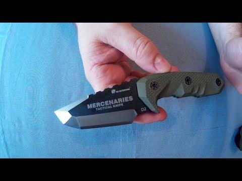 HX OUTDOORS D – 170 Mercenaries Tactical Knife Review