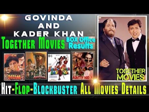 Govinda and Kader Khan Together Movies | Govinda and Kader Khan Hit and Flop Movies List.