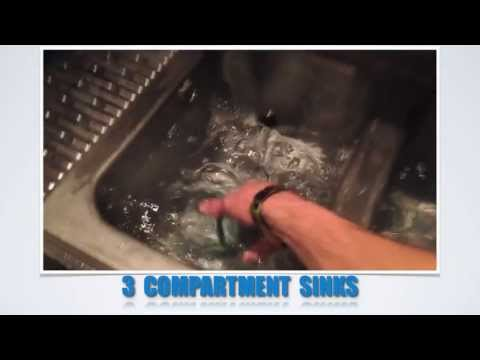 HOW TO SET UP A 3 SINK GLASS WASHING STATION - Bartending 101