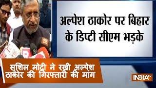 Bihar Deputy CM demands Alpesh Thakor arrest over exodus of North Indians from Gujarat