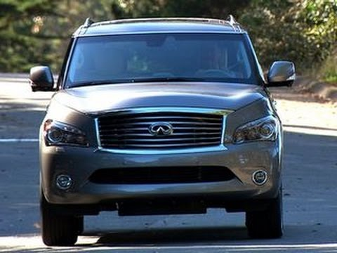2014 Infiniti QX80 AWD Review Video