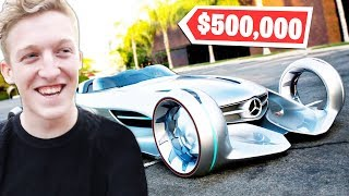 6 Fortnite YouTubers EXPENSIVE Cars! (Tfue, Lachlan, Ninja)
