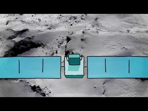Jak chtěl Philae přistát na kometě